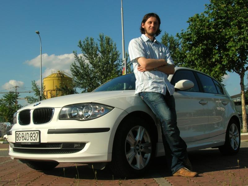 Ja i BMW 116i