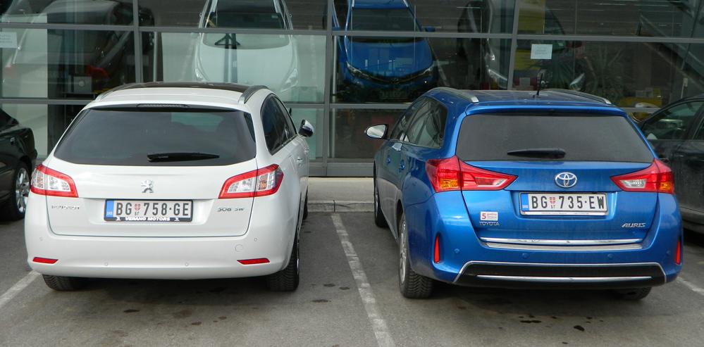 Auris TS i Peugeot 508