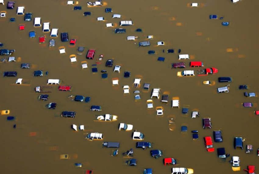 Cars-in River