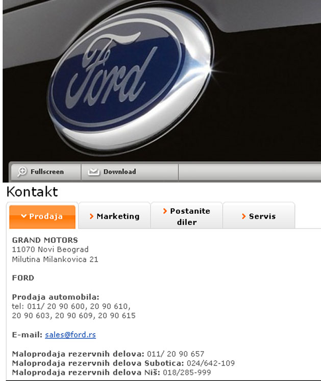 Grand Motors Ford